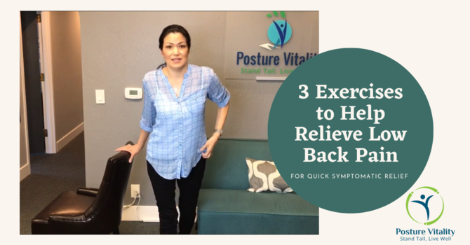 3 Exercises to Help Relieve Low Back Pain image